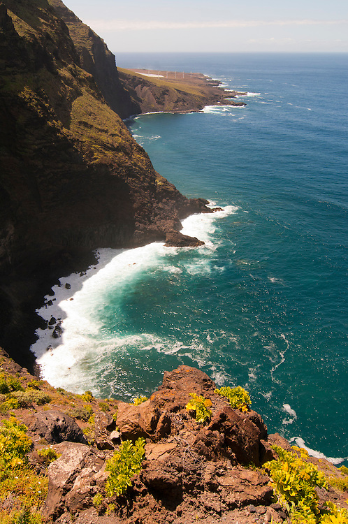 Coastal view near Buenavista, Tenerife, Spain