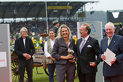 Silberne Camera 2011 for Julia Rau<br /> World Equestrian Festival, CHIO Aachen 2011<br /> © Dirk Caremans