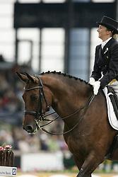 Lunskens Mieke - Jade<br /> World Equestrian Games Aachen 2006<br /> Photo © Hippo Foto