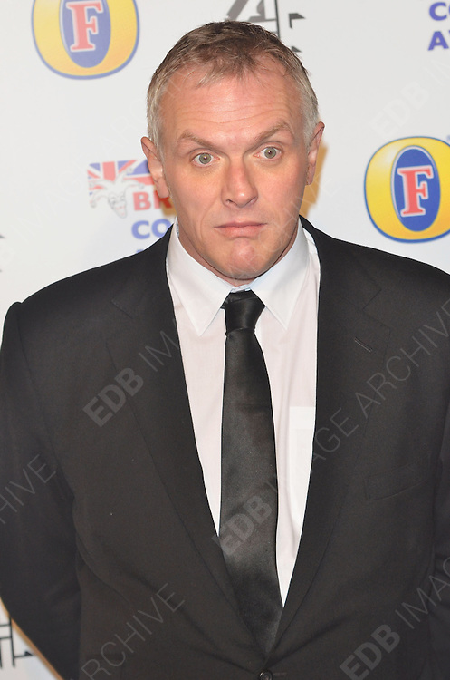 16.DECEMBER.2011. LONDON<br /> <br /> ACTOR AND COMEDIAN GREG DAVIES ARRIVING AT THE 'BRITISH COMEDY AWARDS 2011' HELD AT THE FOUNTAIN STUDIOS IN WEMBLEY, LONDON.<br /> <br /> BYLINE: EDBIMAGEARCHIVE.COM<br /> <br /> *THIS IMAGE IS STRICTLY FOR UK NEWSPAPERS AND MAGAZINES ONLY*<br /> *FOR WORLD WIDE SALES AND WEB USE PLEASE CONTACT EDBIMAGEARCHIVE - 0208 954 5968*