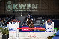 Moerings Bas, NED, Ipsthar<br /> KWPN Hengstenkeuring - 's Hertogenbosch 2019<br /> © Hippo Foto - Dirk Caremans<br /> 31/01/2019
