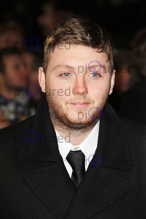 James Arthur, Django Unchained UK film premiere, Empire Cinema Leicester Square, London UK, 10 January 2013, (Photo by Richard Goldschmidt)