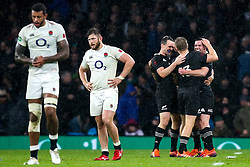 New Zealand All Blacks celebrate victory over England - Mandatory by-line: Robbie Stephenson/JMP - 10/11/2018 - RUGBY - Twickenham Stadium - London, England - England v New Zealand - Quilter Internationals