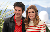 Actor Vincent Lacoste <br /> and Actress Chiara Mastroianni at Room 212 (Chambre 212) film photo call at the 72nd Cannes Film Festival, Monday 20th May 2019, Cannes, France. Photo credit: Doreen Kennedy