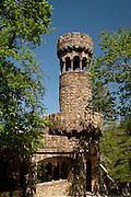 A tower at Quinta da Regaleira near Sintra, Portugal.