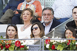 May 12, 2019 - Madrid, Spain - Pepu Hernández attend the men's final during day 9 of the Mutua Madrid Open at La Caja Magica on May 12, 2019 in Madrid, Spain. (Credit Image: © Oscar Gonzalez/NurPhoto via ZUMA Press)