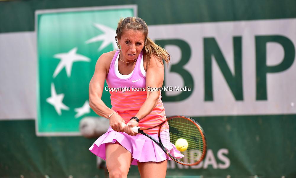 Annika BECK - 29.05.2015 - Jour 6 - Roland Garros 2015<br />Photo : David Winter / Icon Sport
