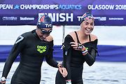 Lara Grangeon (FRA) competes on Women's 10 kms Open water during the Swimming European Championships Glasgow 2018, at Tollcross International Swimming Centre, in Glasgow, Great Britain, Day 9, on August 10, 2018 - Photo Stephane Kempinaire / KMSP / ProSportsImages / DPPI
