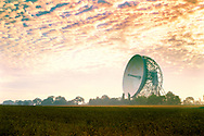 Jodrell Bank Lovell Radio Telescope, near Macclesfield, Cheshire, England.