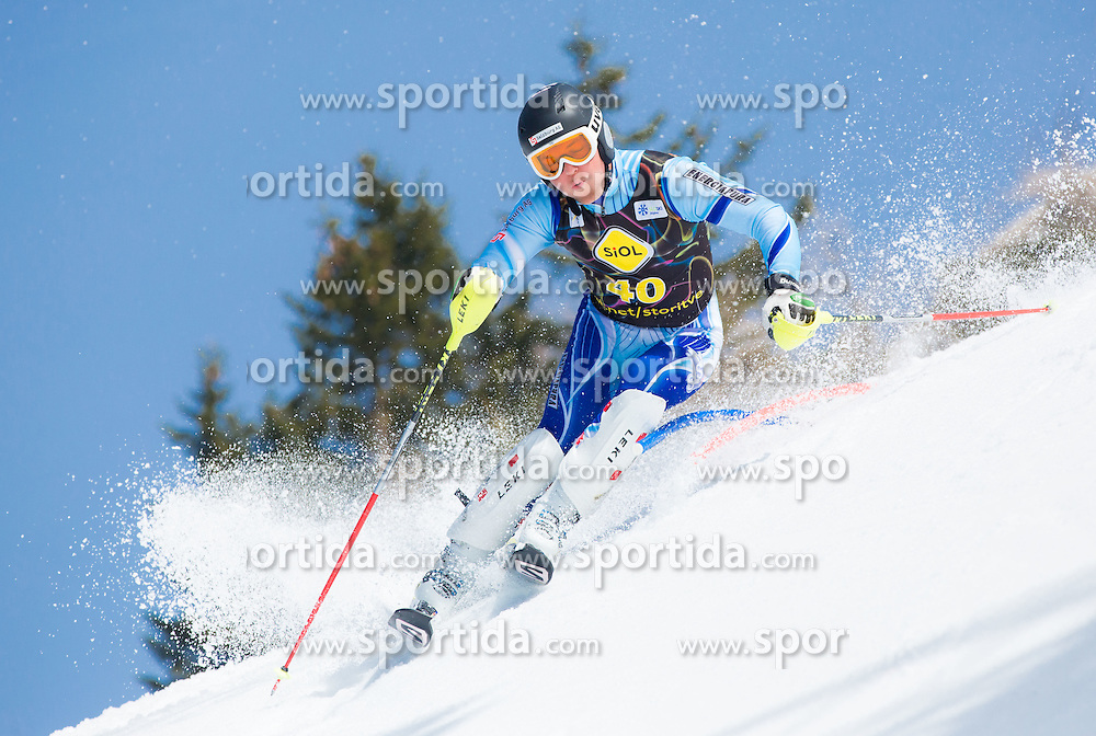 ARZT Sebastian  of Austria during Men's Super Combined Slovenian National Championship 2014, on April 1, 2014 in Krvavec, Slovenia. Photo by Vid Ponikvar / Sportida