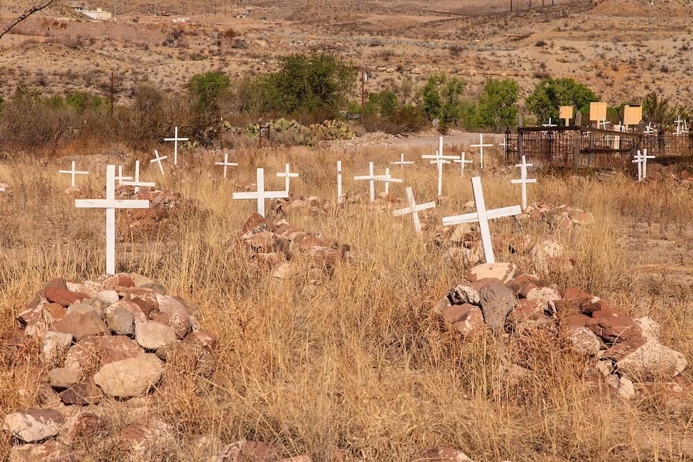 Shafter, TX cemetery.