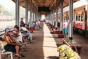 City train circle line. Yangon, Myanmar