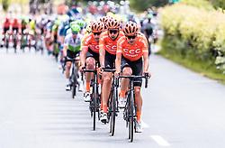 10.07.2019, Fuscher Törl, AUT, Ö-Tour, Österreich Radrundfahrt, 4. Etappe, von Radstadt nach Fuscher Törl (103,5 km), im Bild Jonas Koch (CCC Team, GER) // during 4th stage from Radstadt to Fuscher Törl (103,5 km) of the 2019 Tour of Austria. Fuscher Törl, Austria on 2019/07/10. EXPA Pictures © 2019, PhotoCredit: EXPA/ JFK