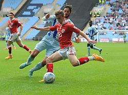Bristol City's Joe Bryan crosses the ball  - Photo mandatory by-line: Joe Meredith/JMP - Mobile: 07966 386802 - 18/10/2014 - SPORT - Football - Coventry - Ricoh Arena - Bristol City v Coventry City - Sky Bet League One