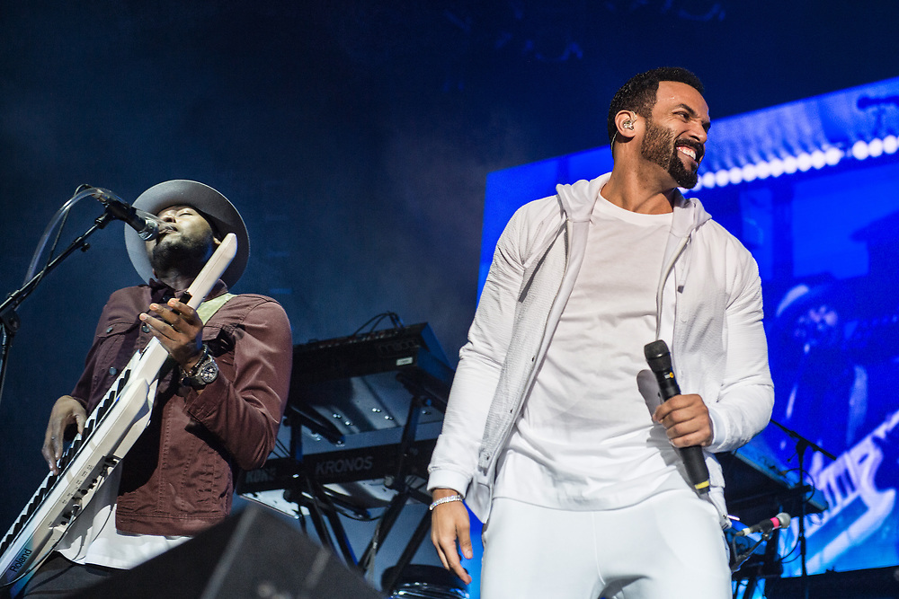 Craig David in concert at The SSE Hydro Glasgow Scotland, Great Britain 3rd April 2017
