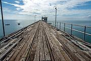 Puerto Armuelles, distrito de Barú, Provincia de Chiriquí, Panamá.  El Muelle Fiscal fue por muchas décadas uno de los principales puertos de Panamá para la exportación de banano.