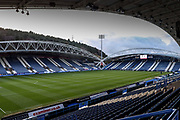 Stadium shot during the EFL Sky Bet Championship match between Huddersfield Town and Leeds United at the John Smiths Stadium, Huddersfield, England on 7 December 2019.