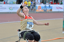05/08/2017; Kosche, Charleen, F34, GER at 2017 World Para Athletics Junior Championships, Nottwil, Switzerland