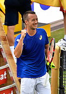 Philipp Kohlschreiber during the Mercedes Cup at Tennisclub Weissenhof, Stuttgart<br /> Picture by EXPA Pictures/Focus Images Ltd 07814482222<br /> 08/06/2016<br /> *** UK & IRELAND ONLY ***<br /> EXPA-EIB-160608-0057.jpg