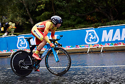 Sheyla Gutierrez Ruiz (ESP) at UCI Road World Championships 2019 Mixed Relay a 27.6 km team time trial in Harrogate, United Kingdom on September 22, 2019. Photo by Sean Robinson/velofocus.com