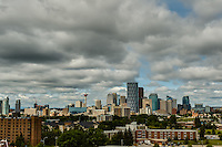 There were some really cool clouds over Calgary so I went to Tom Campbell's Hill to create some pictures of the city skyline with the clouds overhead.<br /> <br /> &copy;2012, Sean Phillips<br /> http://www.RiverwoodPhotography.com