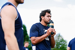Steven Luatua looks on during week 1 of Bristol Bears pre-season training ahead of the 19/20 Gallagher Premiership season - Rogan/JMP - 03/07/2019 - RUGBY UNION - Clifton Rugby Club - Bristol, England.