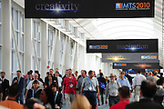 Attendees of the 2010 International Manufacturing Technology Show (IMTS) at McCormick Place.
