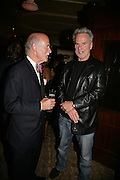 Anton Mosimannand Trevor Eve, PJ's Annual Polo Party . Annual Pre-Polo party that celebrates the start of the 2007 Polo season.  PJ's Bar & Grill, 52 Fulham Road, London, SW3. 14 May 2007. <br />  -DO NOT ARCHIVE-© Copyright Photograph by Dafydd Jones. 248 Clapham Rd. London SW9 0PZ. Tel 0207 820 0771. www.dafjones.com.