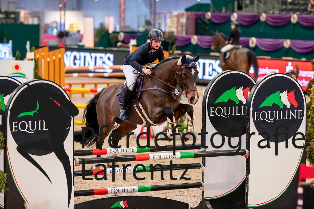 GRUBER Alexandra (GER), Charisma<br /> Leipzig - Partner Pferd 2019<br /> SPOOKS-Amateur Trophy<br /> Small Tour<br /> 17. Januar 2019<br /> © www.sportfotos-lafrentz.de/Stefan Lafrentz