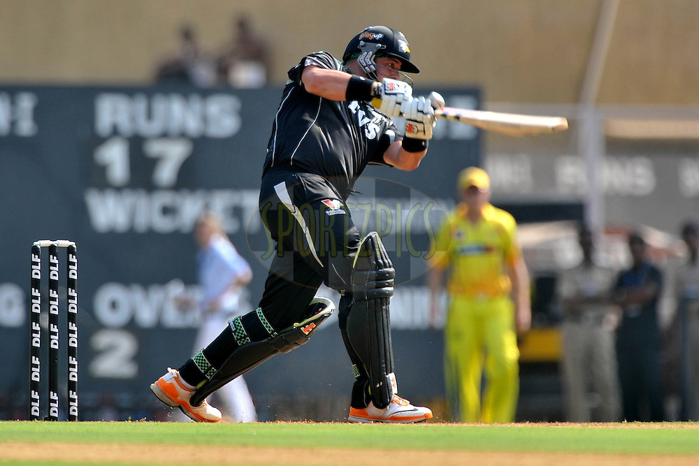 Jessy Ryder of Pune Warriors India bats during  match 31 of the Indian Premier League ( IPL ) Season 4 between the Pune Warriors and the Chennai Superkings held at the Dr DY Patil Sports Academy, Mumbai India on the 28th April 2011..Photo by Pal Pillai/BCCI/SPORTZPICS