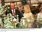 The Duke of Kent & Lady Helen Taylor. Chelsea Flower Show. London. 18 May 1998. Film 98296f8<br />
