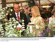 The Duke of Kent & Lady Helen Taylor. Chelsea Flower Show. London. 18 May 1998. Film 98296f8<br />© Copyright Photograph by Dafydd Jones<br />66 Stockwell Park Rd. London SW9 0DA<br />Tel 0171 733 0108