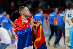 Vladimir Stimac of Serbia after the Final basketball match between National Teams  Slovenia and Serbia at Day 18 of the FIBA EuroBasket 2017 at Sinan Erdem Dome in Istanbul, Turkey on September 17, 2017. Photo by Vid Ponikvar / Sportida