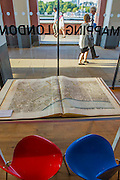 Richard Horwood's Plan of the cities of London and Westminster - 'Mapping London' exhibition as part of the Totally Thames Festival - It is the work of Daniel Crouch Rare Books and includes London maps spanning over 500 years. It includes the earliest map of London ever printed from the 16th century, right up to maps from the present day, such as Stephen Walter's 2012 creation 'Subterranea', showing the sewers, tubes, underground rivers and burial grounds that lie under the city.