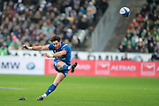 Maxime Machenaud (FRA) scored the penalty during the NatWest 6 Nations 2018 rugby union match between France and Ireland on February 3, 2018 at Stade de France in Saint-Denis, France - Photo Stephane Allaman / ProSportsImages / DPPI