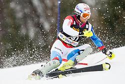 GINI Marc of Switzerland competes during the 1st Run of 10th Men's Slalom - Pokal Vitranc 2013 of FIS Alpine Ski World Cup 2012/2013, on March 10, 2013 in Vitranc, Kranjska Gora, Slovenia. (Photo By Vid Ponikvar / Sportida.com)