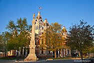 Livingston County Courthouse in Pontiac, Illinois, USA