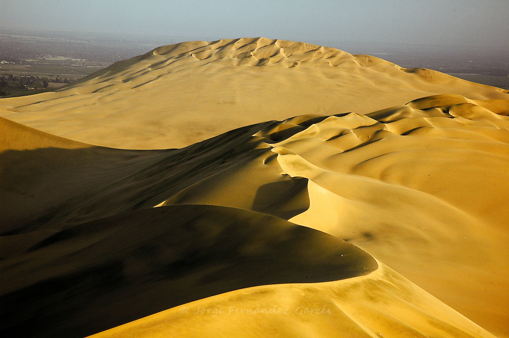 Sand dunes close to Ica southern Peru, South America
