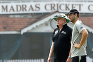Cricket - India and New Zealand Practice Sessions Chennai