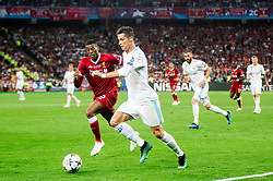 Cristian Ronaldo of Real Madrid during the UEFA Champions League final football match between Liverpool and Real Madrid at the Olympic Stadium in Kiev, Ukraine on May 26, 2018.Photo by Sandi Fiser / Sportida