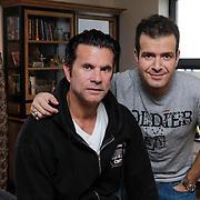 NLD/Amstelveen/20120503 - Lorenzo Lamas met Varol Porsemay