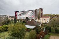 Purpose-built students accommodation, La Croix de Berny, France / Logements étudiants.<br /> Pour / For: The Economist (London)