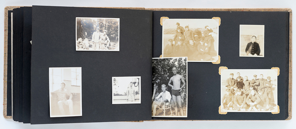 Japan student time photo album 1940s 1950s