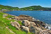 Shoreline along White Bay. Baie Verte Peninsula.<br />Seal Cove<br />Newfoundland & Labrador<br />Canada