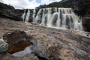 Sao Goncalo do Rio Preto_MG, Brasil...Circuito Estrada Real, na foto cachoeira das Sempre-Vivas no Parque Estadual do Rio Preto...The circuit Estrada Real (Real Road), in this photo the Sempre-Vivas waterfall at Rio Preto State Park...Foto: LEO DRUMOND /  NITRO