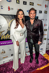 LOS ANGELES, CA - SEPTEMBER 2 Television personality Estefania Iglesias and Colombian television actor Harry Geithner attend the purple carpet of Latina International Beauty Convention at The LA Hotel l in downtown Los Angeles on Friday night 2016 September. Byline, credit, TV usage, web usage or linkback must read SILVEXPHOTO.COM. Failure to byline correctly will incur double the agreed fee. Tel: +1 714 504 6870.