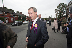 SEP 30 2013 Nigel Farage in Manchester