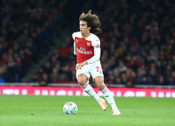 October 31, 2018 - London, England, United Kingdom - London, UK, 31 October, 2018.Matteo Guendouzi of Arsenal.During Carabao Cup fourth Round between Arsenal and Blackpool at Emirates stadium , London, England on 31 Oct 2018. (Credit Image: © Action Foto Sport/NurPhoto via ZUMA Press)