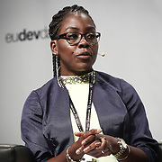 20160616 - Brussels , Belgium - 2016 June 16th - European Development Days - Sustainable health care for all by 2030 - Shared effort for a common goal - Elsa Zekeng , Young Leader - Leave no-one behind , Cameroon © European Union