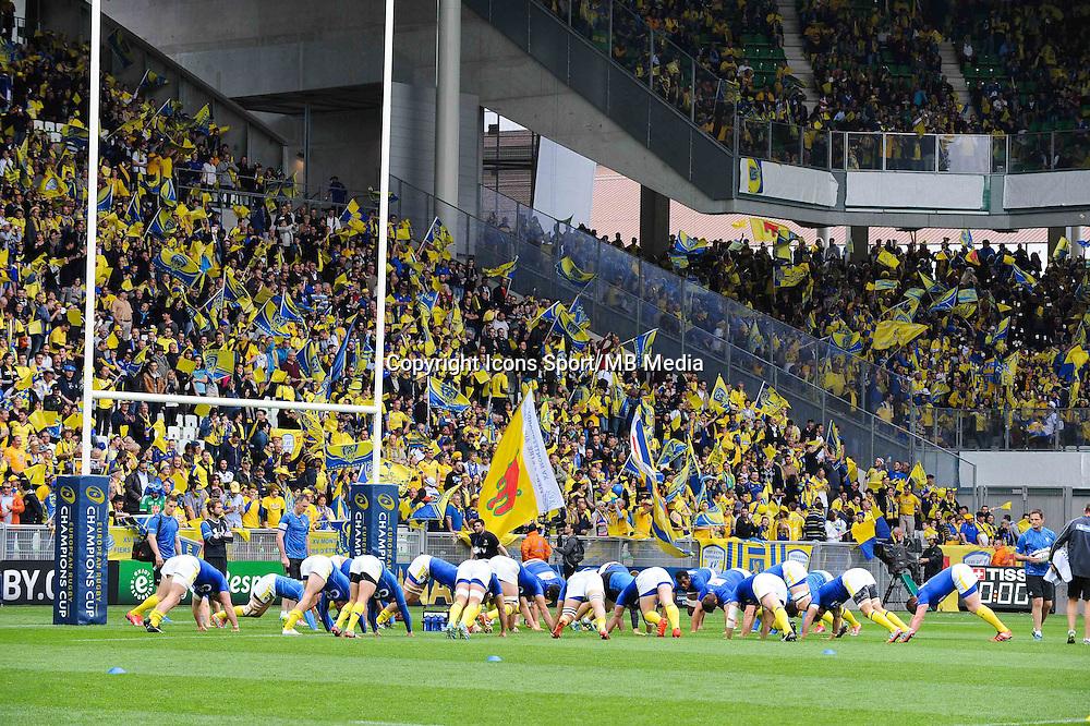Groupe Clermont - 18.04.2015 - Clermont / Saracens - 1/2Finale European Champions Cup<br />Photo : Jean Paul Thomas / Icon Sport